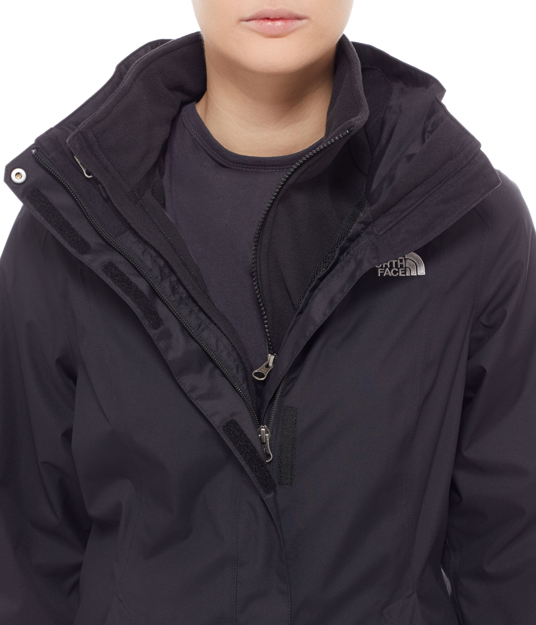 ce906bc60190a The North Face Evolve II Jacket Women black at Addnature.co.uk